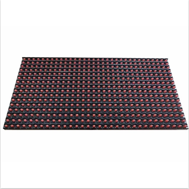 High brightness outdoor waterproof 1r red P10 led modules