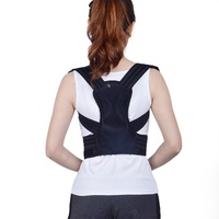 Best selling factory new design breathable back brace comfortable posture corrector device