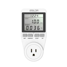 BALDR US <strong>Electricity</strong> Monitor, Power Energy Usage Socket Meter Power Kill A Watt