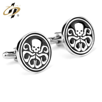 China making personalized swank mens metal cufflinks for gifts