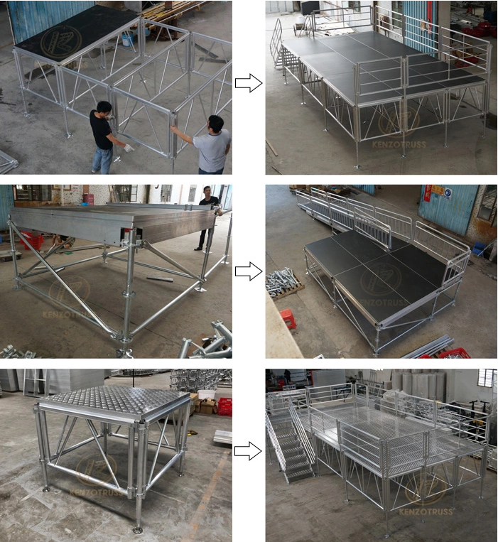 Outdoor Aluminum  Performance Events Stage for Sale