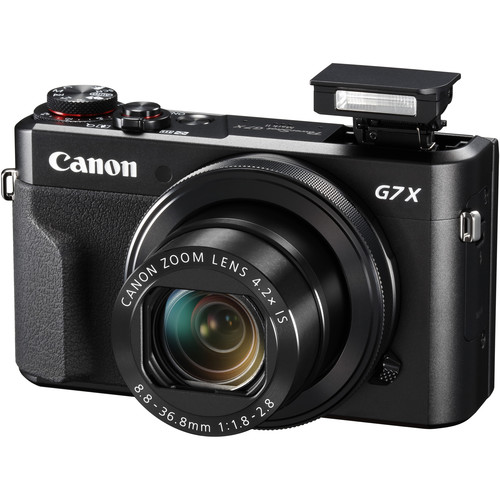 Canon PowerShot G7 <strong>X</strong> Mark II Digital Camera Black