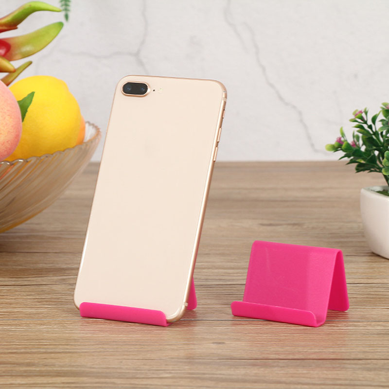 Wholesale cheap kickstand plastic phone holder for cellphone