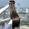 XBL high quality remy Indian straight grade 9a virgin hair, wholesale 40 inch indian remy natural human hair extension