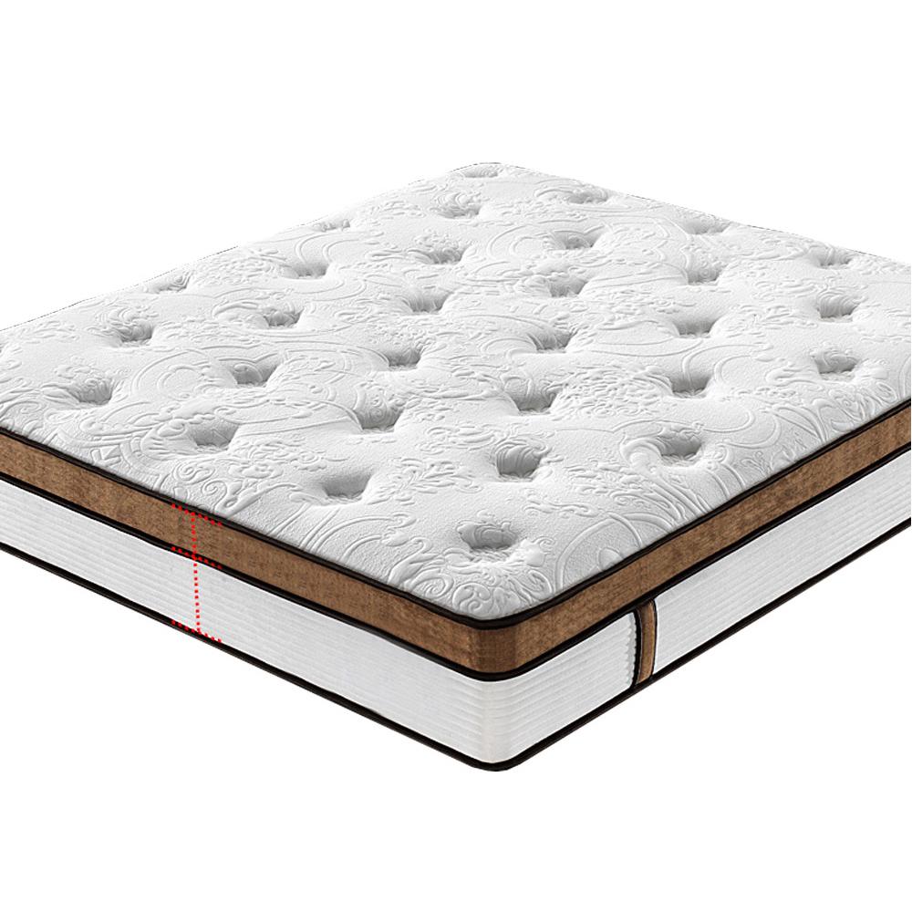 JE-A541 Diglant furniture Memory Foam Latest Double Single Bed Fabric King Sizegermany spring mattress - Jozy Mattress   Jozy.net