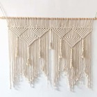 large macrame wall hanging decor