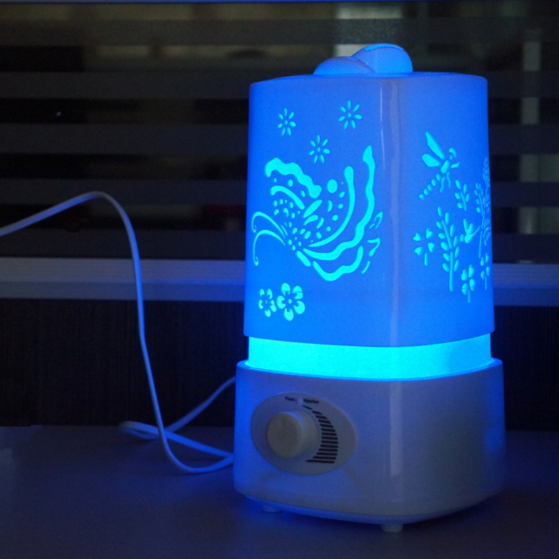 LED Night Light Aromatherapy Air Humidifier for Home Office
