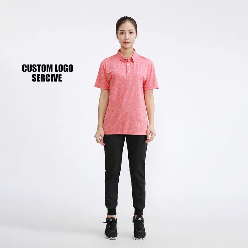 2019 best quality unisex pink polo shirt with <strong>design</strong> your personnaly logo