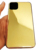 For iPhone11 pro metal stainless steel Electroplated real gold mobile phone housing