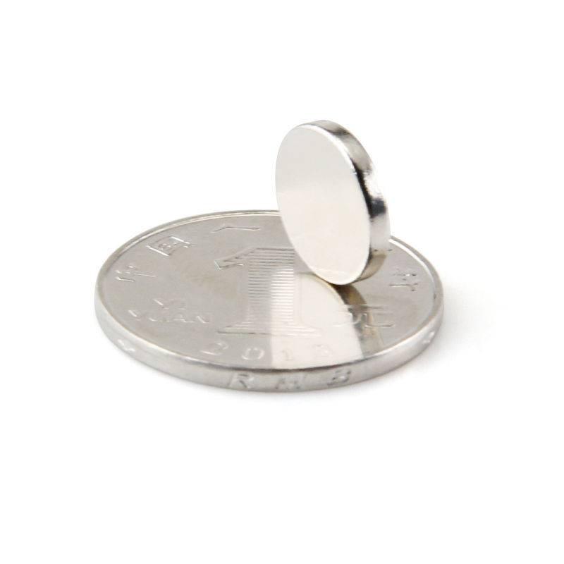 <strong>D12</strong> x 2mm N35 permanent small round rare earth NdFeB neodymium magnet