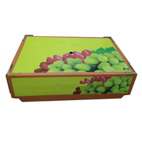 Beautiful fruit shape printing packaging apple/orange/cherry paper gift boxes with clear window