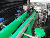 Manufacturing Plant auto shrink label sleeving machine for plastic bottles or glass