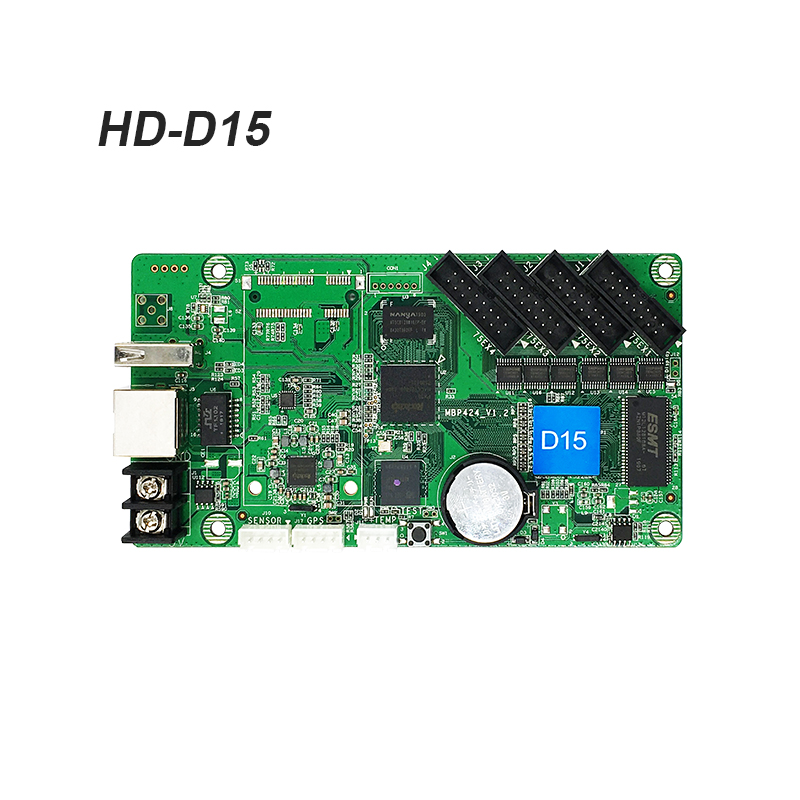 Async Controller HuiDu <strong>D15</strong> Receiving Card For Led Video Screen Using