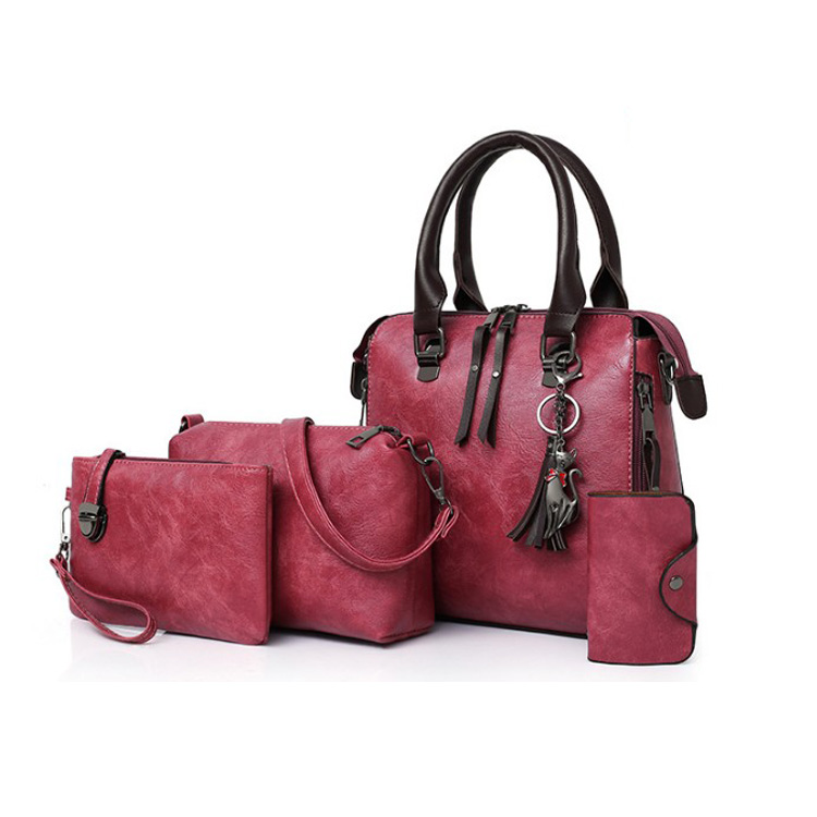REYON Hot Selling PU Leather Ladies Wallet Ladies Pars Hand Set Bag For <strong>Women</strong>
