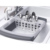 Folding Retractable Drain Basket Rack Water Washing Kitchen Shelf Cooking Tool Accessory