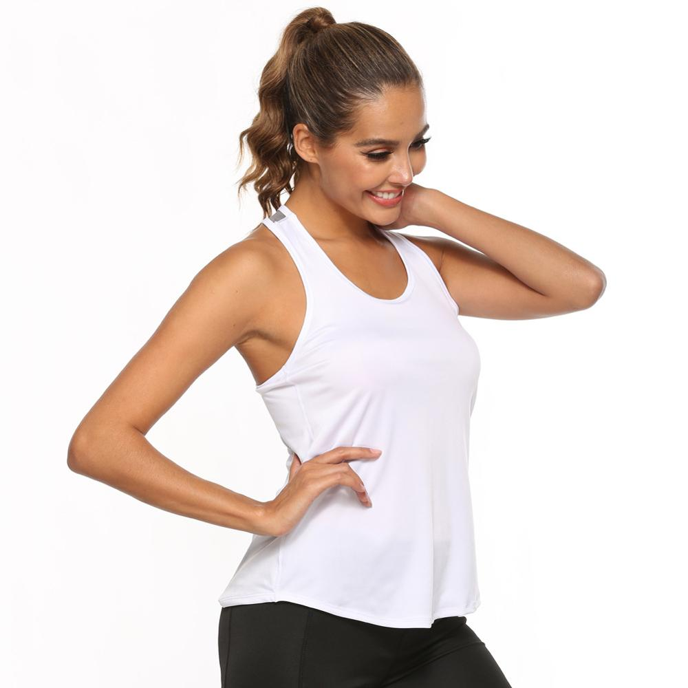 Women T-shirt Sleeveless Top Yoga Gym Fitness <strong>Sport</strong> Vest Running Training Clothes for Women