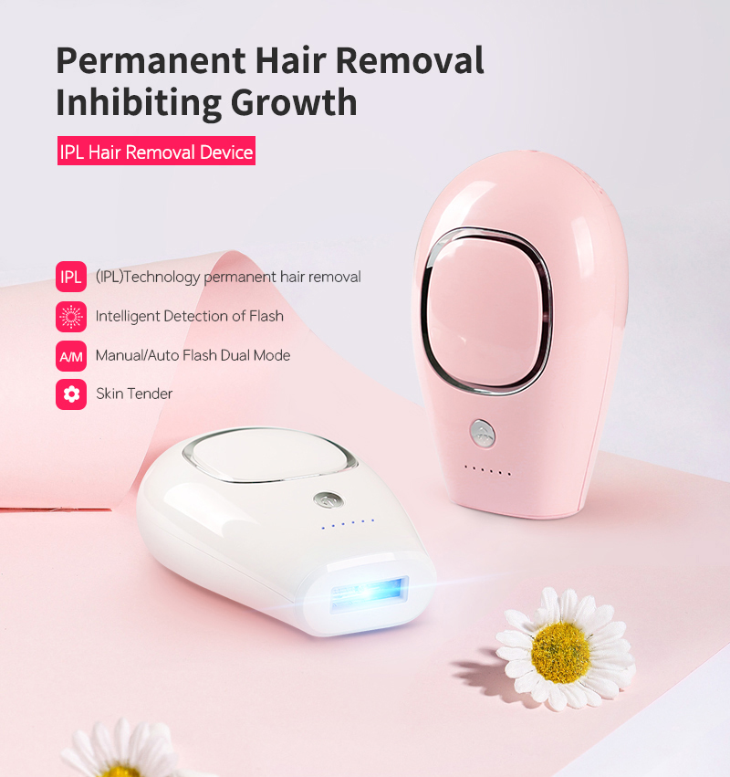 2020 Handheld Professional Portable IPL Hair Epilator System Machine Professional Painless Hair Removal Machine