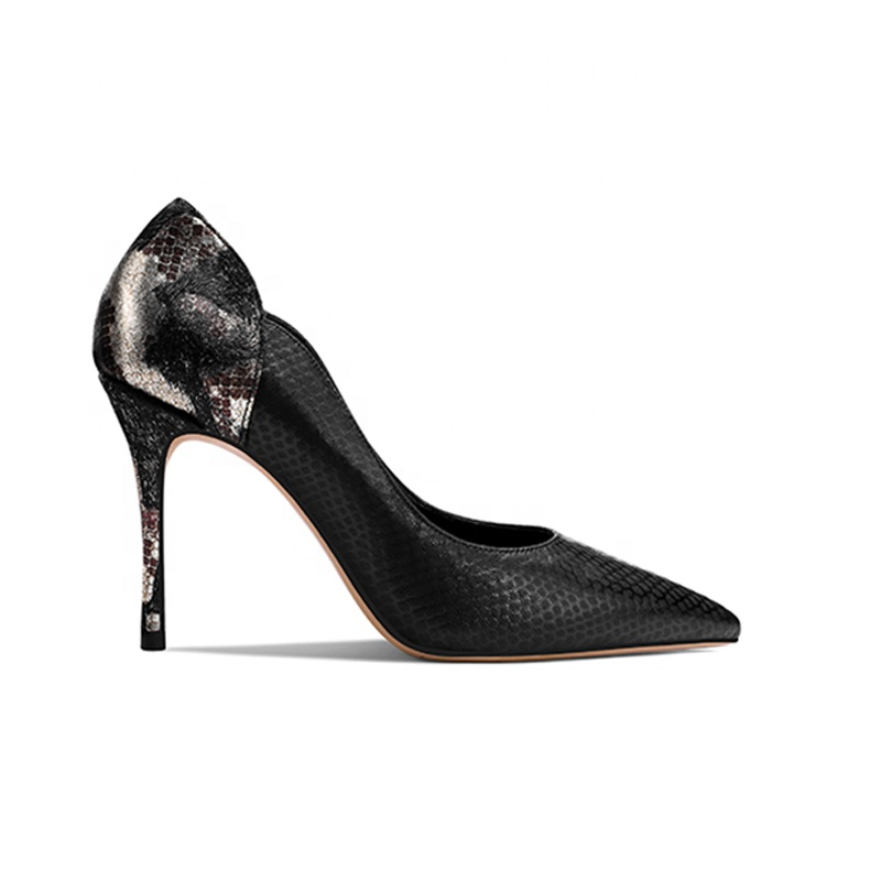 2019 High <strong>Heel</strong> Women's Pumps Black Genuine Leather Shoes x19-c194 Ladies Women Dress Shoes <strong>Heels</strong> For Lady