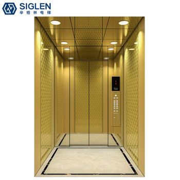 The 8 Level Machine Room Nice Smart Passenger Elevator Price