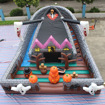Halloween Bouncy Castle Halloween Inflatable Haunted Bounce House