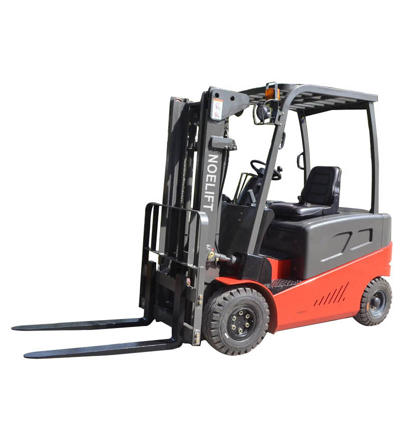 Triplex Full Free Mast of Lifting Height 4.5m 2t Explosion-Proof Electric Forklift