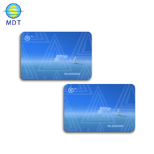 MDT plastic business <strong>card</strong> printing