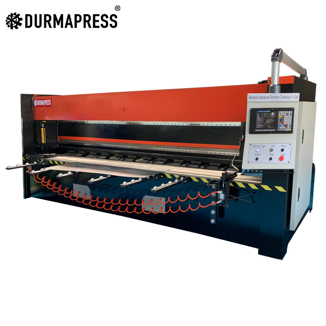 China Factory 4000 <strong>X</strong> <strong>1250</strong> pneumatic CNC HUST Controller V Grooving Machine