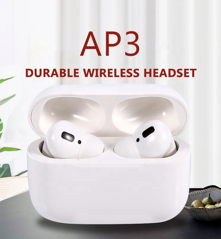 Factory direct 1:1 original noise cancel AP3 bluetooth wireless earphone earbuds <strong>air</strong> pro 3 air3 airbuds pods pro earpods