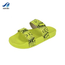 Summer fashion snakeskin <strong>slippers</strong> women thick bottom sandals smooth double strap sexy <strong>slippers</strong>