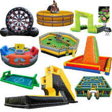 factory kid adult challenge Commercial china inflatable game for children