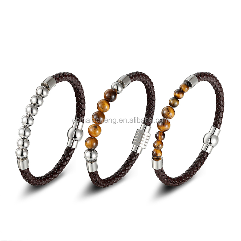 Guangzhou hot sell round lined leather slim braided string 3/4/5/6/7mm personalized style for jewelry making
