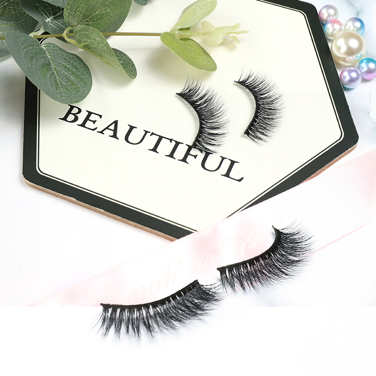 <strong>Manufacturer</strong> Premium Wholesale Popular Cruelty Free Top Quality Makeup Handmade 3d Silk Lashes