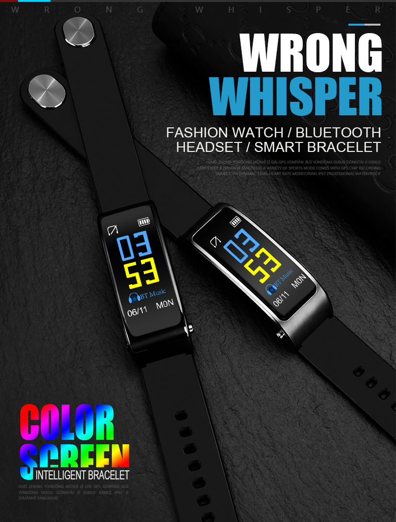 Y3 Plus Smart Watch With Earphone Heart Rate Sleep Monitor Bluetooth Call Music Smartwatch for Business Sports Headset