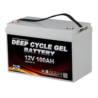 Promotion! Optima JYC Deep Cycle Gel Solar Battery 12V 100Ah Batteries for Solar Power System and Inverter