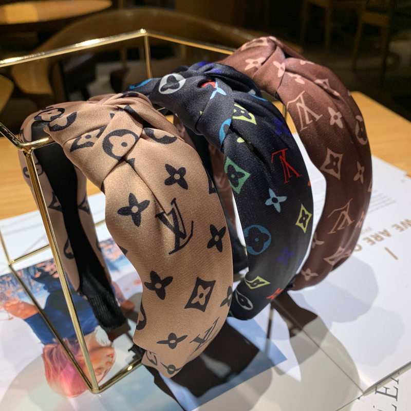 New Korean version of the knot knotted wide-brimmed headband tiara hairpin slip headband <strong>hair</strong> <strong>accessories</strong>