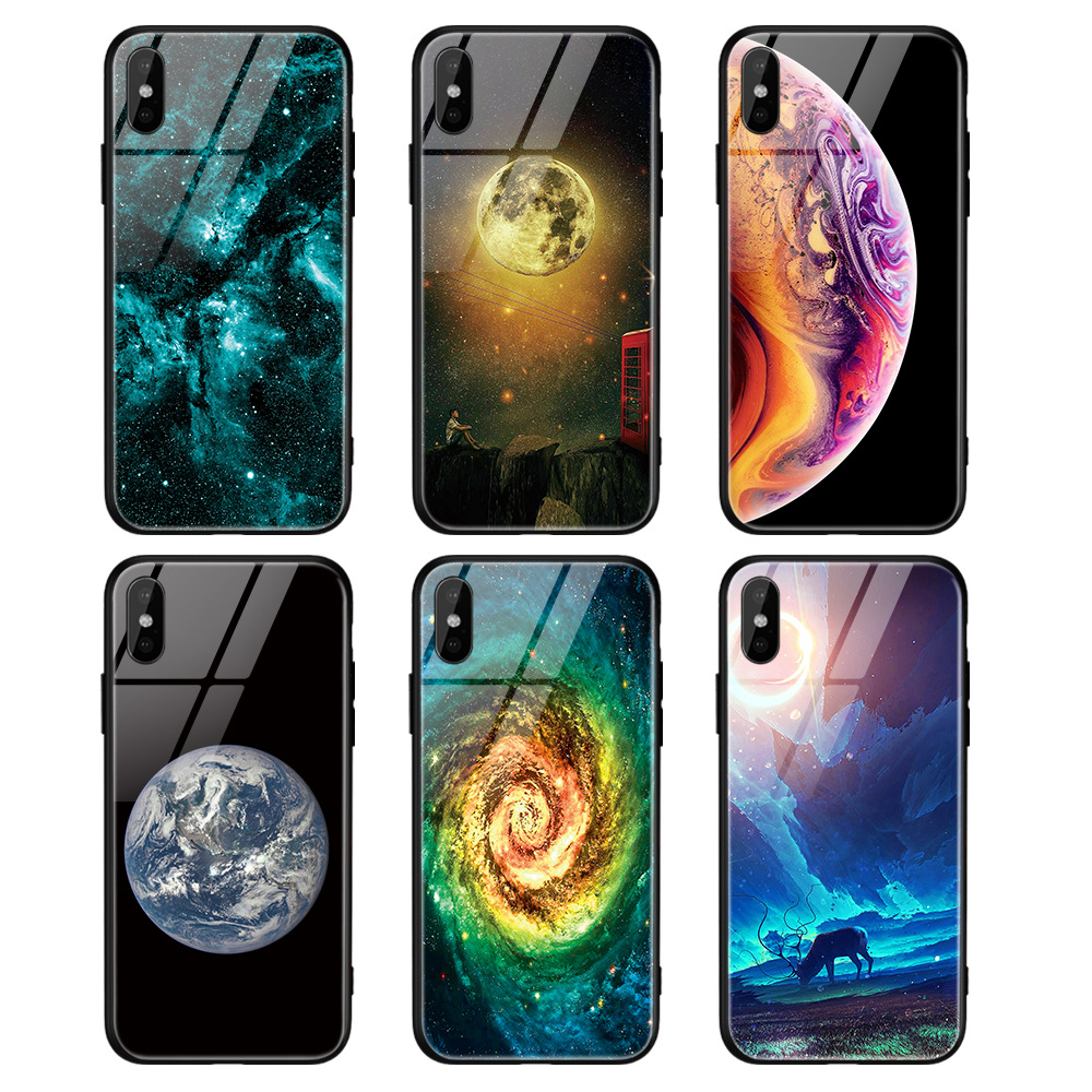 2020 New Fashion Tempered Glass material Sublimation cell phone <strong>case</strong>