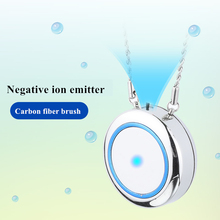 2020 Fashion New Style Portable Anion Necklace Air Purifier Novelty Caring <strong>Gift</strong> Mother's Valentine Day <strong>Gift</strong>