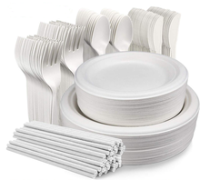 best price custom party biodegradable round tableware dinner disposable set paper <strong>plate</strong>
