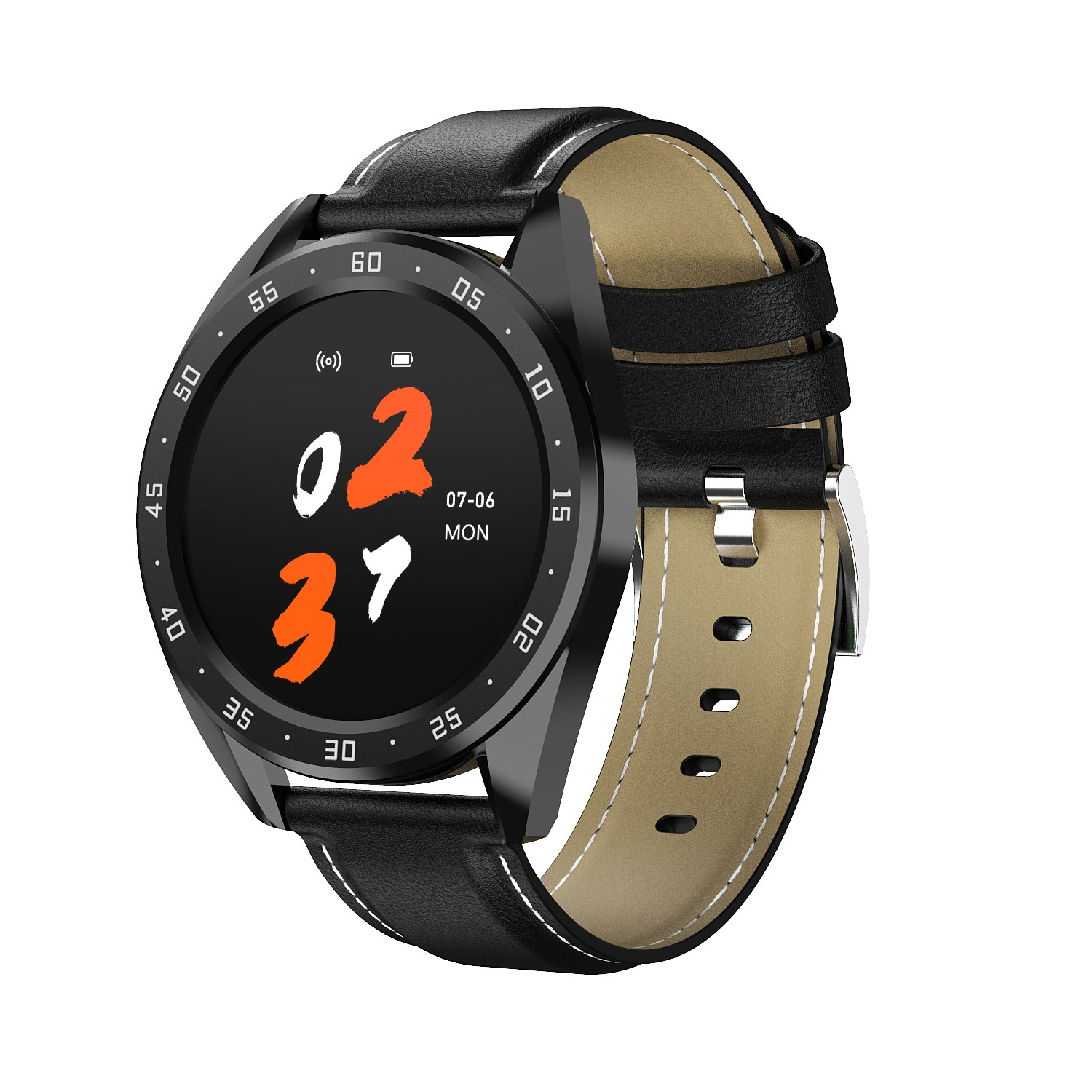 2020 Custom <strong>x10</strong> Big Full Color Touch <strong>Screen</strong> IP67 Android Smart Bracelet Watch