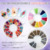 TSZS Nail Art Mixed Colorful Stone/Bead Set Irregular Beads 3D Mixed Sizes Colorful Manicure Rhinestone Nail Art Decoration