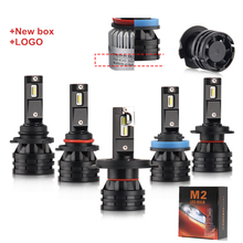 16000LM 60W H3 H1 H11 H8 9005 9006 9007 H13 car led Headlight bulbs h4 h7 led,H4 H7 M2 Led Headlights for Replacement