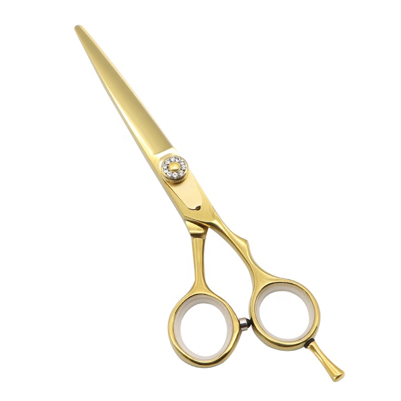 Cutting  6inch Professional Best Cheap Golden Shears Hair hairdressing Barber Scissors