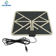 Custom Digital Indoor Tv Antenna Amplified 50 Miles Range Detachable Antena Tv Digital And 13ft Coaxial Cable Hdtv Antenna