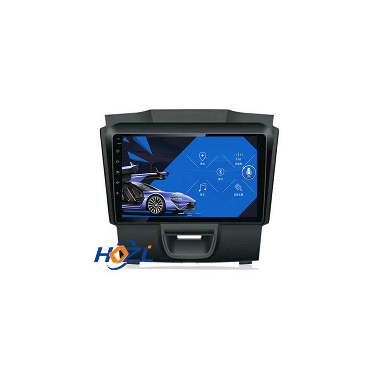 Car Radio For Isuzu <strong>D</strong>-MAX DMAX 2015-2018 S10 Android 9.0 HD 9 inch Touch screen GPS Navigation Multimedia Player