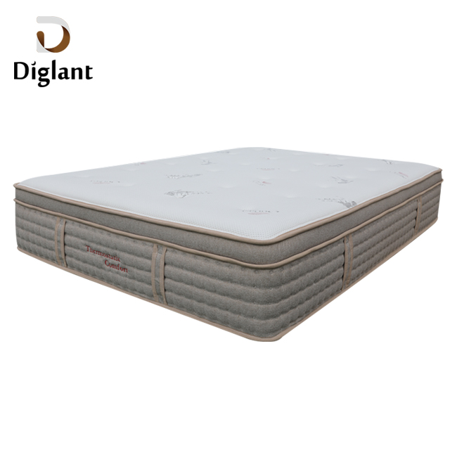 DM36 Diglant Latest Double Fabric Foldable King Size Gel Single Bed Memory Latex Natural queen mattress - Jozy Mattress | Jozy.net