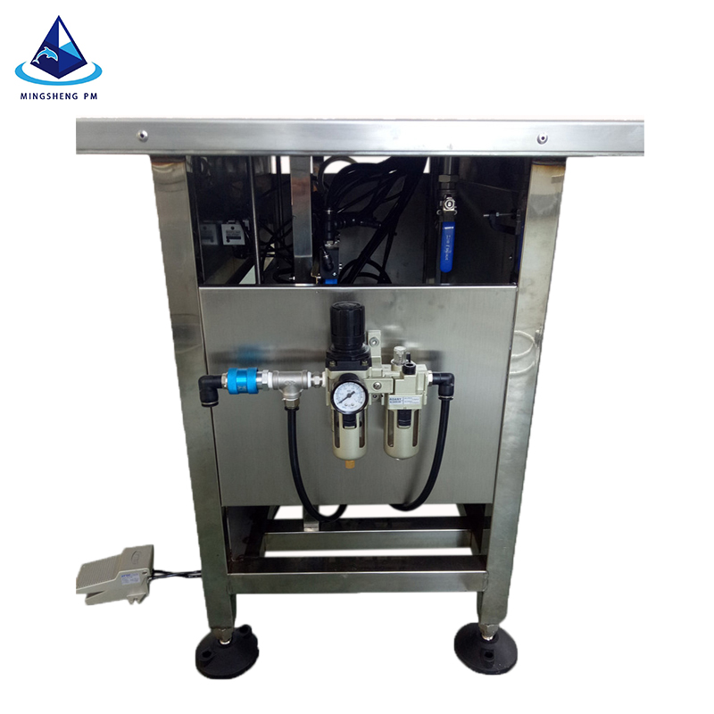 spray paint tin can aerosol filling machine