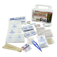 Emergency preparedness first aid kits for Home Office Vehicle Camping and Sports