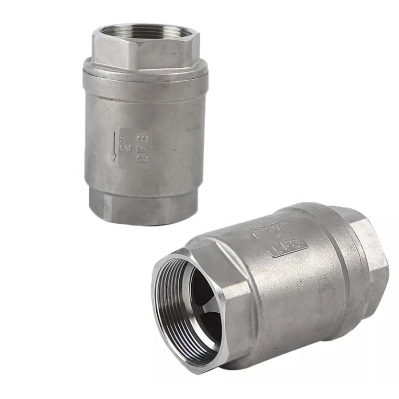 stainless steel 304 3/8 inch vertical check <strong>valve</strong> High pressure 1000wog SS 304 water supplying 304 check <strong>valve</strong>