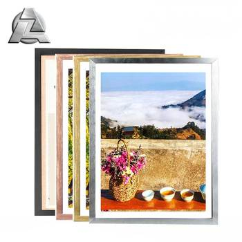 customized color aluminum extrusion modern picture frames