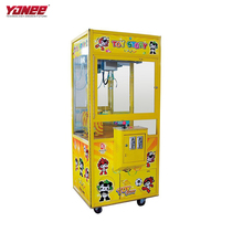 Yonee cool game malaysia claw toy game machine coin operated from Panyu